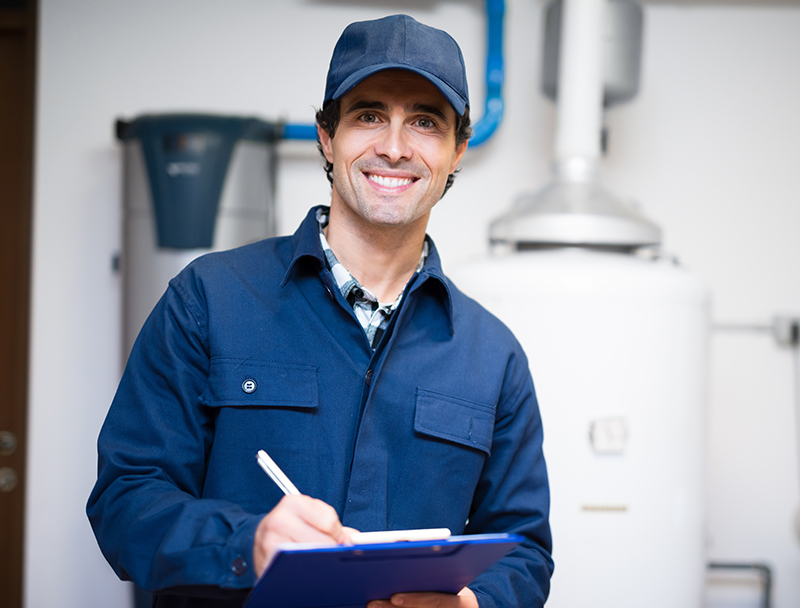 Parkside Fuel Service Technician Performing Oil Burner Service and Maintenance in Mount Sinai, NY